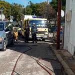 Incendio en una vivienda de Jerez causado por una manta térmica