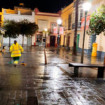 Se continúa con la limpieza y desinfección de El Puerto con lejía como medida para combatir el coronavirus